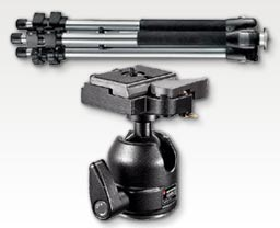 Manfrotto 190CL W/484RC2 Ball Head